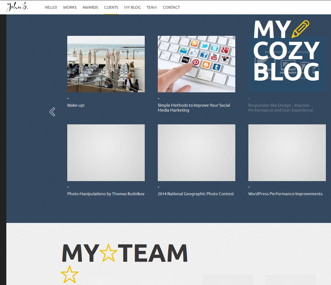 designer website