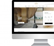 Ready-made website for hotels