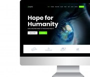 Ready-made website for charities