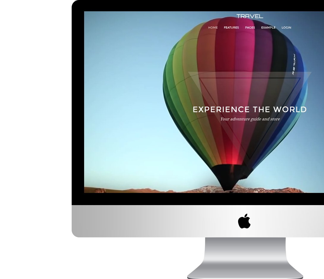 Professional adventure website design